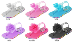 Category: Dropship Dollardays, SKU #1877800, Title: Toddler Girl's Assorted Jelly Sandals