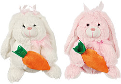 Category: Dropship Party Supplies, SKU #1878123, Title: Case of [36] Easter Rabbit With Carrot, 2 Colors