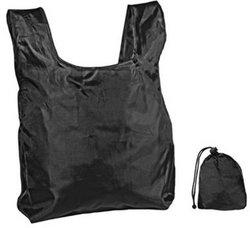 Category: Dropship Dollardays, SKU #1922885, Title: Case of [250] Reusable Shopping Bag with Drawstring Closure- Black