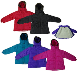 Category: Dropship Dollardays, SKU #1922978, Title: Case of [24] Girl's Polyester Winter Jackets -Sizes 4-6X