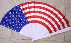 Category: Dropship Party Supplies, SKU #2133441, Title: Case of [96] USA Hand Fan