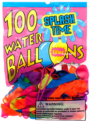 Category: Dropship Party Supplies, SKU #2168911, Title: Case of [144] Water Balloon With Filler - 100 Count - Assorted
