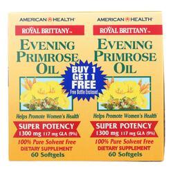 dropshipping American Health Evening Primrose Oil - 1300 Mg - 60+60 Softgels