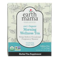 dropshipping Earth Mama Angel Baby Morning Wellness Tea - 16 Tea Bags
