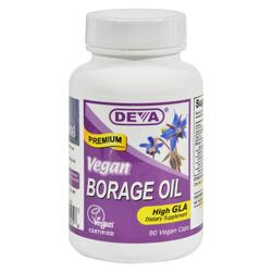 dropshipping Deva Vegan Borage Oil - 500 Mg - 90 Vcaps
