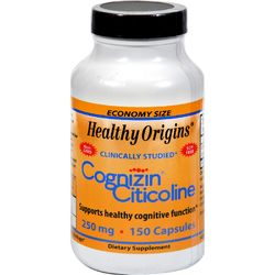 Category: Dropship Vitamins & Supplements, SKU #0579326, Title: Healthy Origins Cognizin Citicoline - 250 mg - 150 Capsules