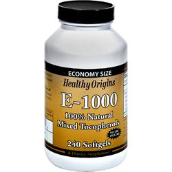 Category: Dropship Vitamins & Supplements, SKU #0774026, Title: Healthy Origins E-1000 - 1000 IU - 240 Softgels