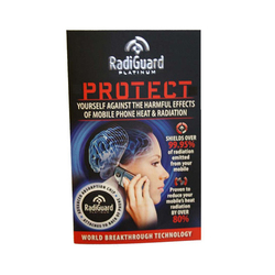 Category: Dropship Household, SKU #1061282, Title: Radiguard Platinum Chip - Radiation Shield for Cell Phones - Case of 24