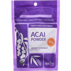 Category: Dropship Botanicals And Herbs, SKU #1271485, Title: Navitas Naturals Acai Powder - Organic - Freeze-Dried - 4 oz - case of 12