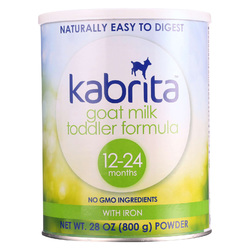 Category: Dropship Baby, SKU #1577386, Title: Kabrita Goat Milk Toddler Formula - 12-24 Months - Case of 6 - 28 oz