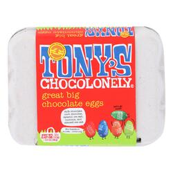 Category: Dropship Undefined, SKU #2349264, Title: Tony's Chocolonely - Eggs Chocolate Great Big - Case of 24 - 5.7 OZ