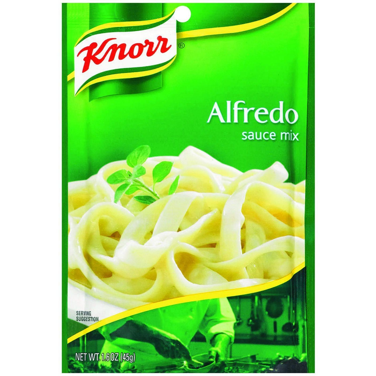 Knorr Sauce Mix - Alfredo - 1.6 oz - Case of 12