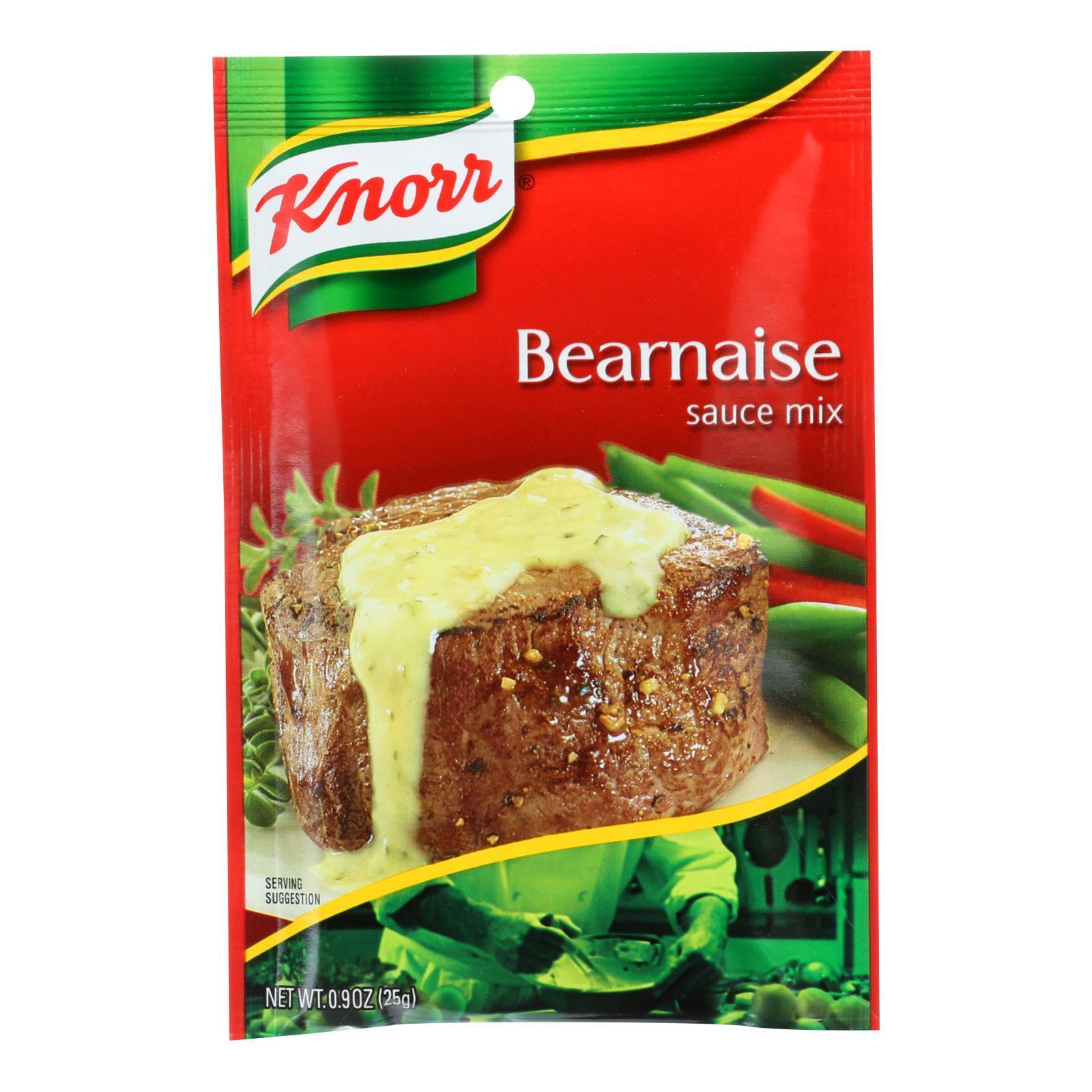 Knorr Sauce Mix - Bernaise - .9 oz - Case of 12