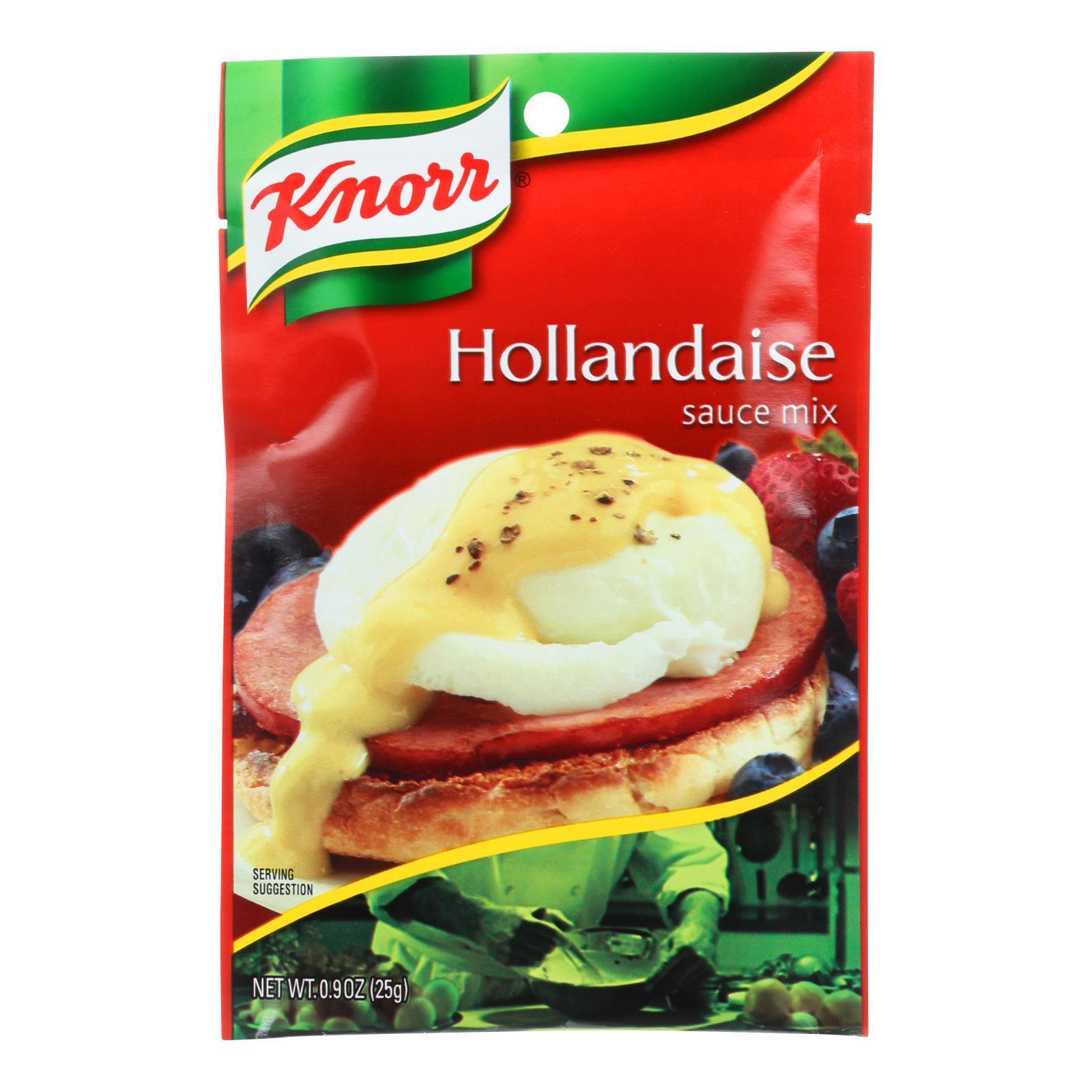 Knorr Sauce Mix - Hollandaise - .9 oz - Case of 12