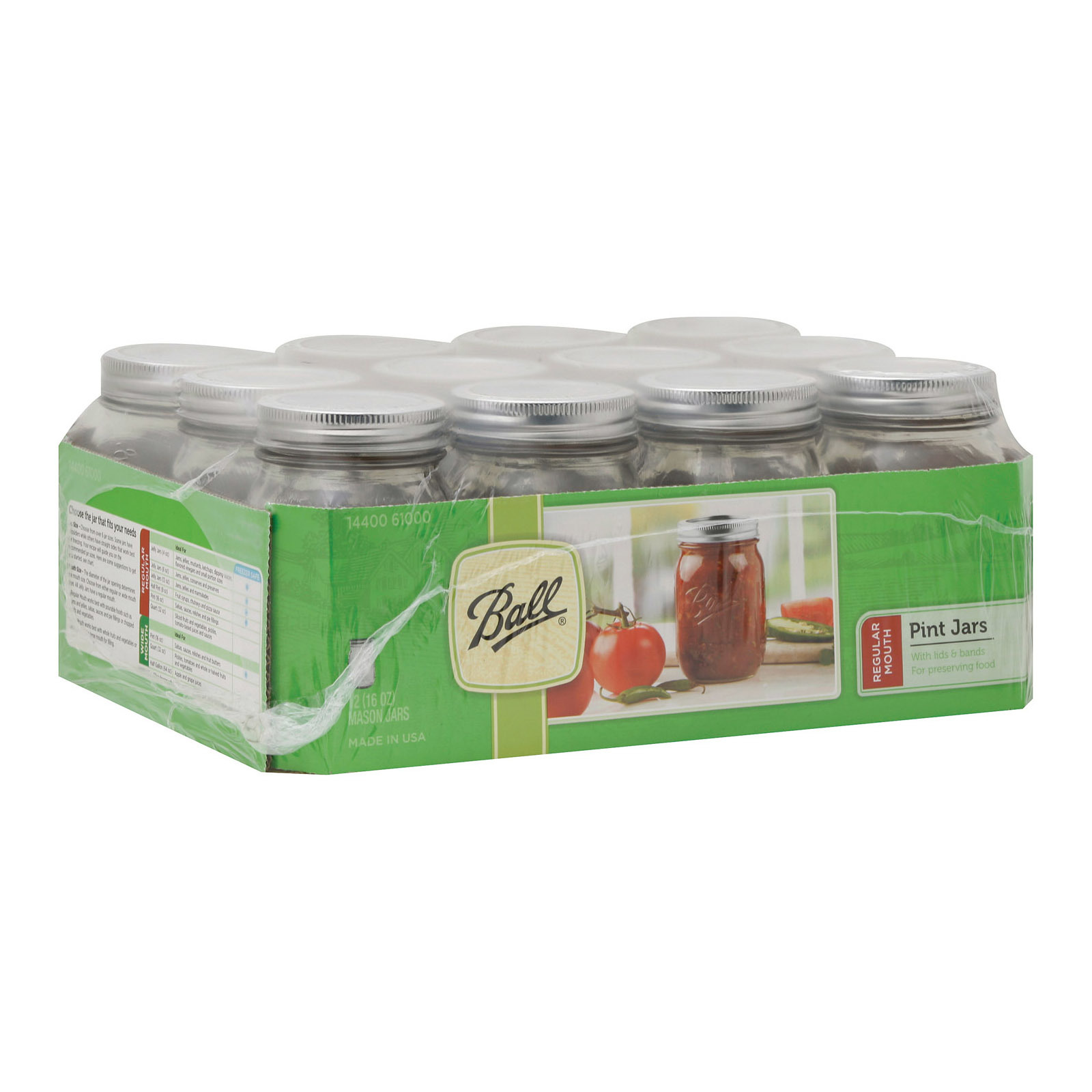 Ball Canning Mason Canning Jar Set - Case of 1 - 12 Count