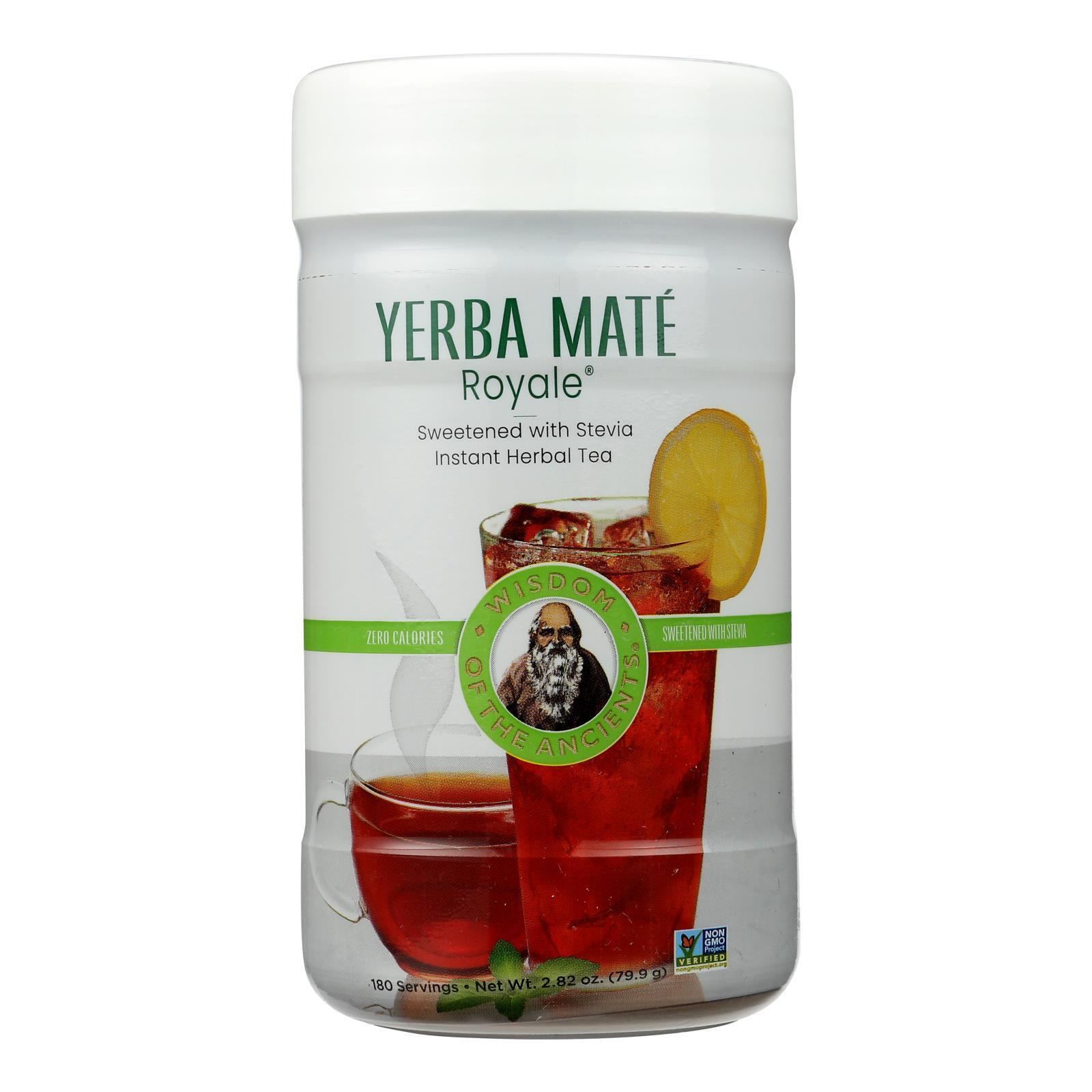 Wisdom Natural Organic Yerba Mate Royale Tea - 2.82 oz