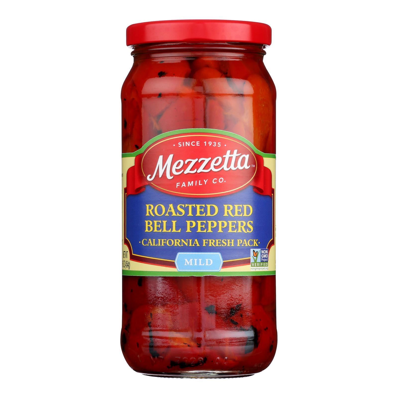 Mezzetta Roasted Bell Peppers - Case of 6 - 16 oz.