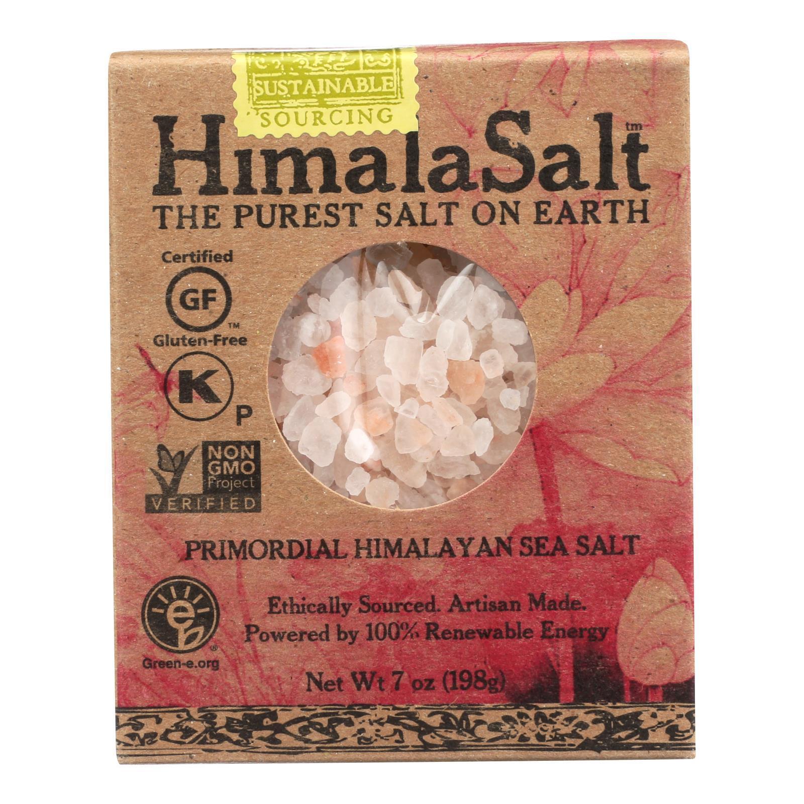 Himalasalt Refill Box - Coarse Grain - 7 oz - Case of 6