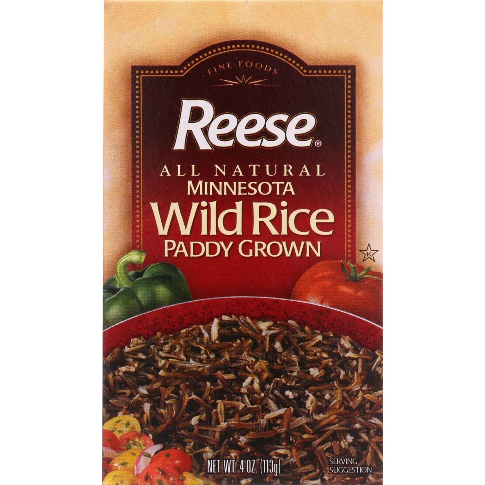 Reese Rice - Wild - Boxed - 4 oz - case of 12