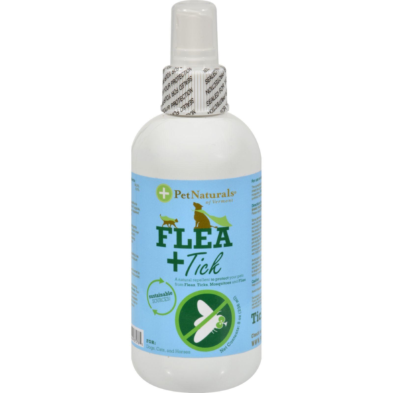 Pet Naturals of Vermont Protect Flea and Tick Repellent - 8 fl oz