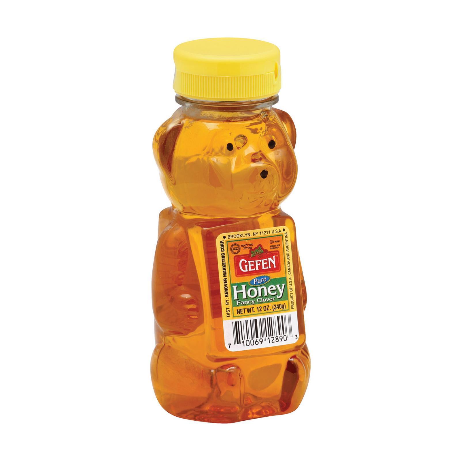 Gefen Honey Bear - Case of 12 - 12 oz.