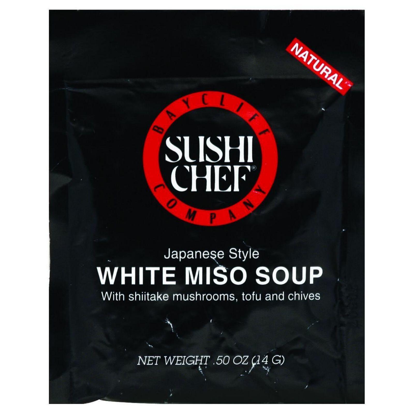 Sushi Chef Soup Mix - Miso White - .5 oz - Case of 12