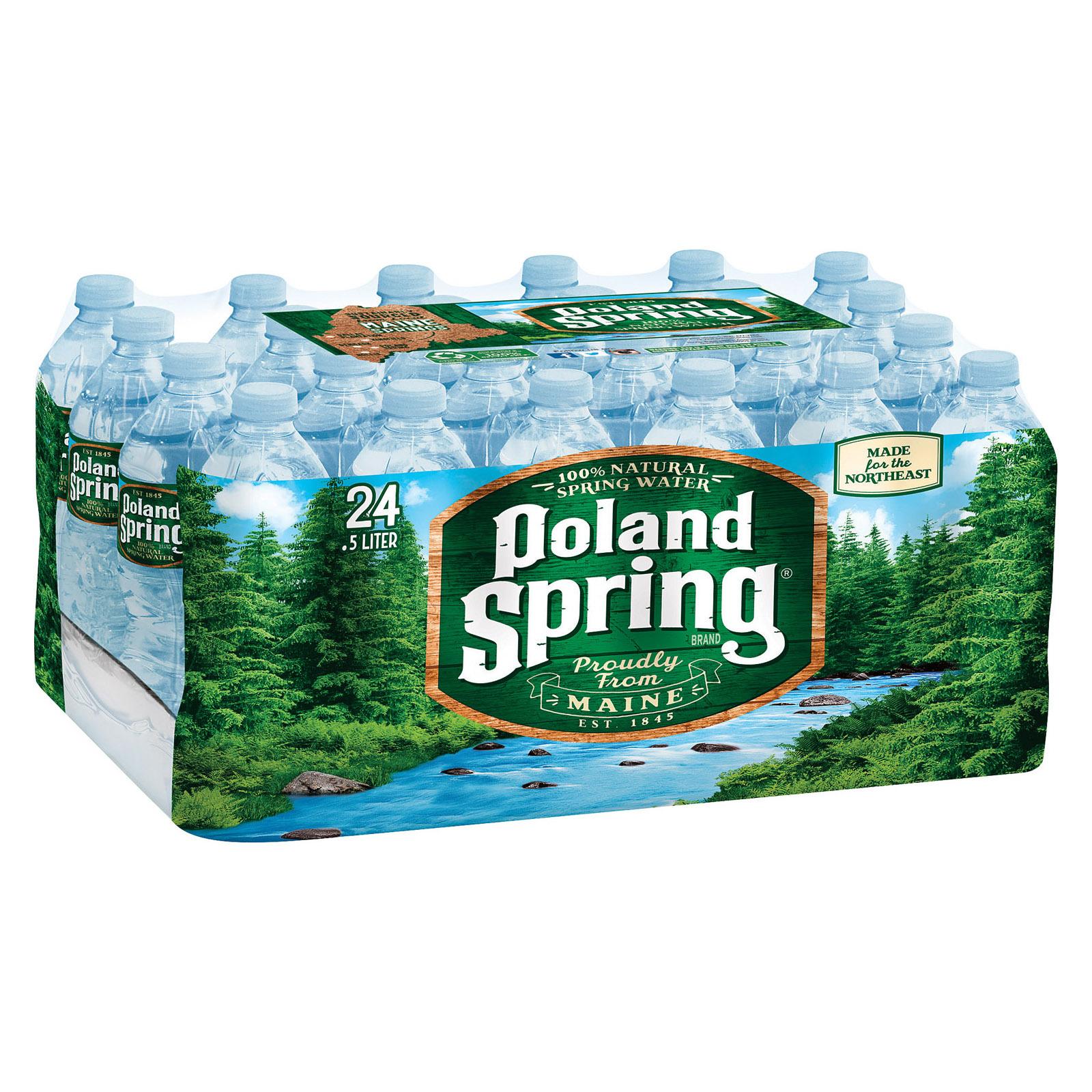 Poland Spring Water - Case of 1 - 0.5 Liter
