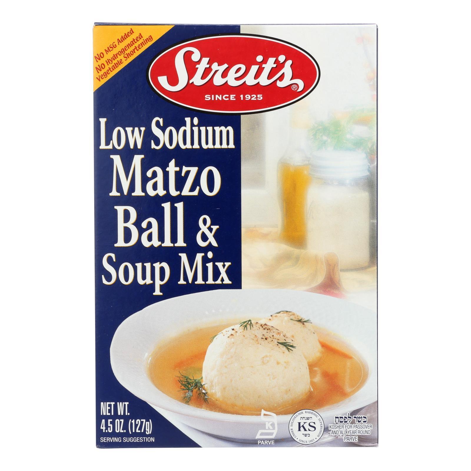 Streit's Matzo - Ball and Soup Mix - Case of 12 - 4.5 oz.