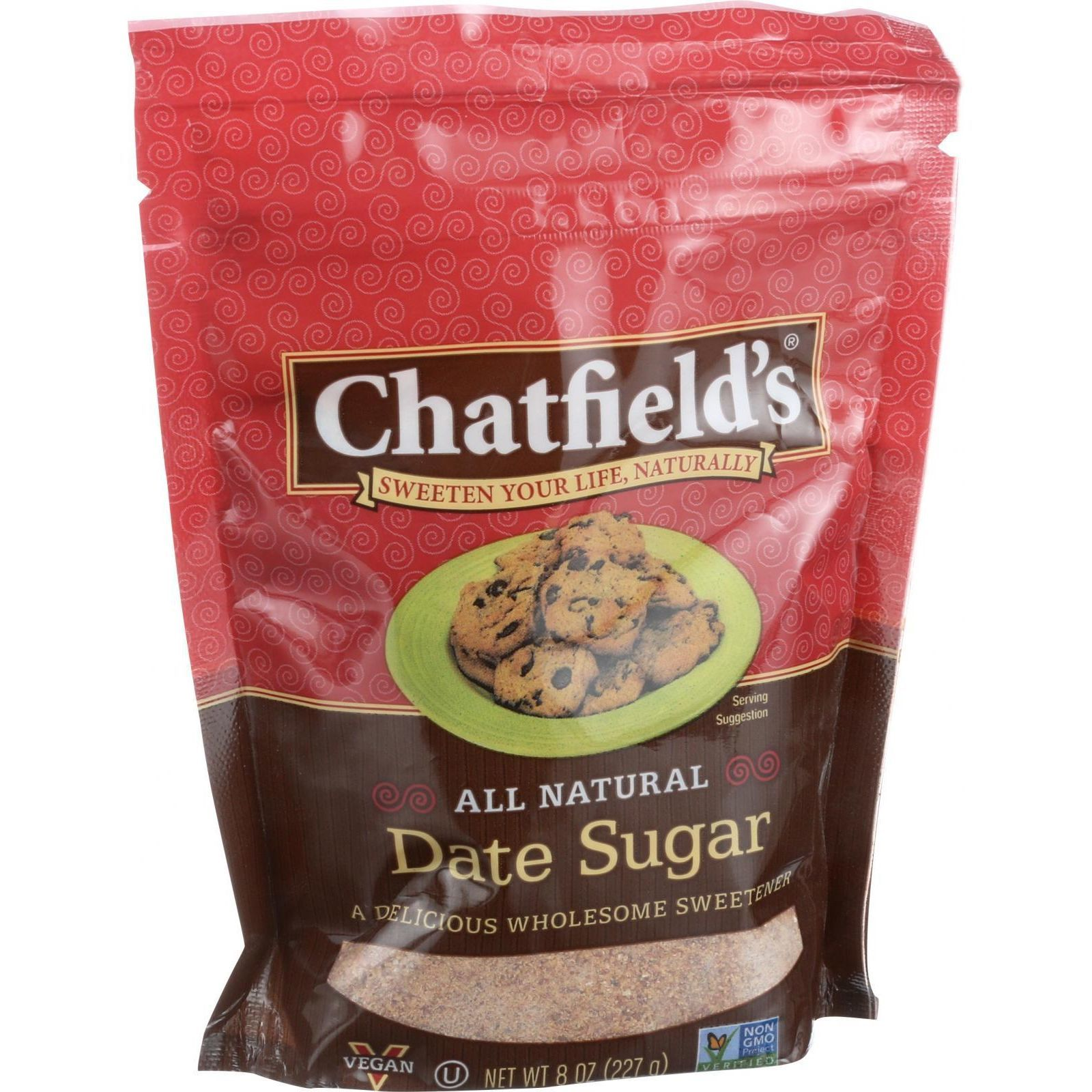 Chatfield's All Natural Date Sugar - 8 oz