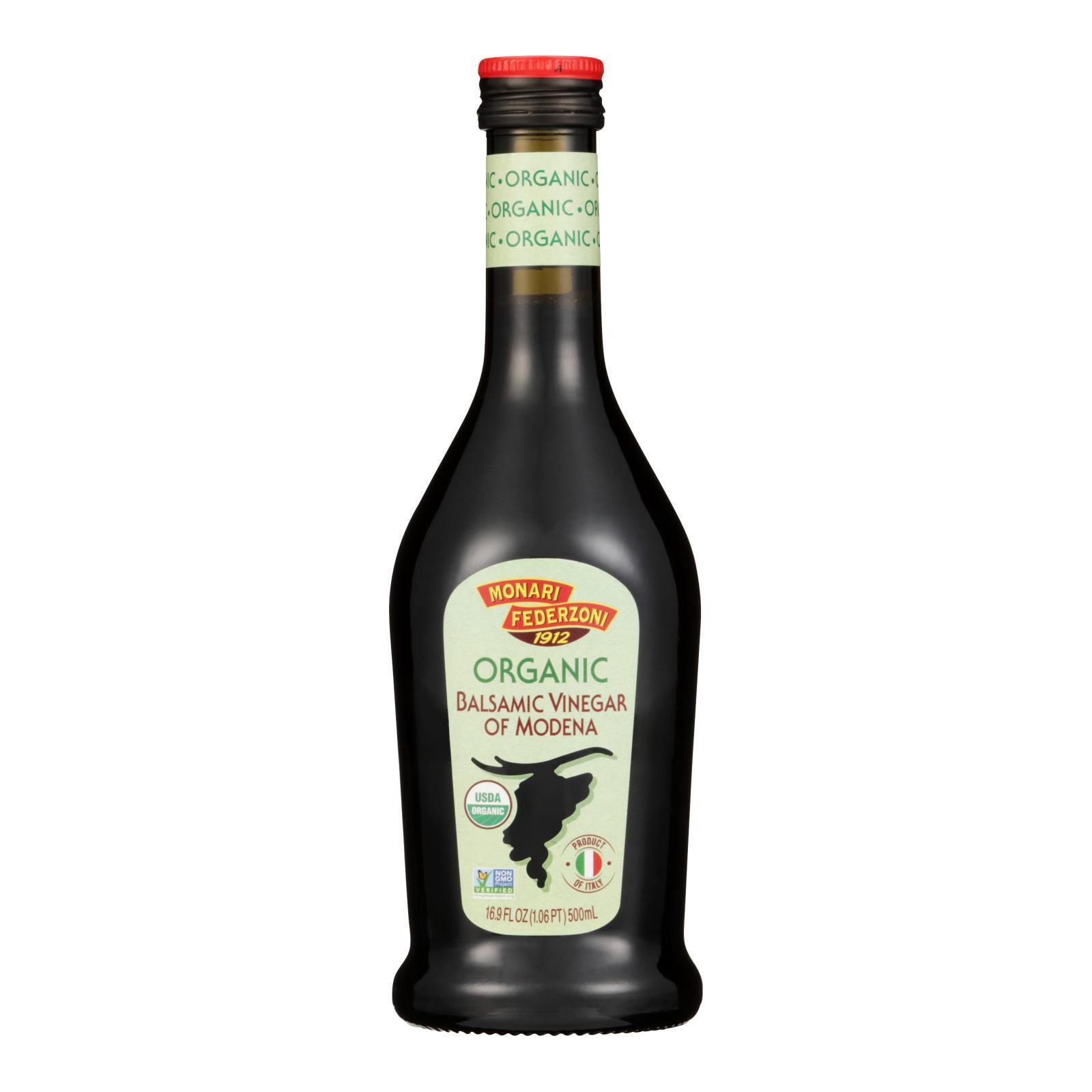 Monari Federzoni Balsamic Vinegar of Modena - Organic - Case of 6 - 17 Fl oz.