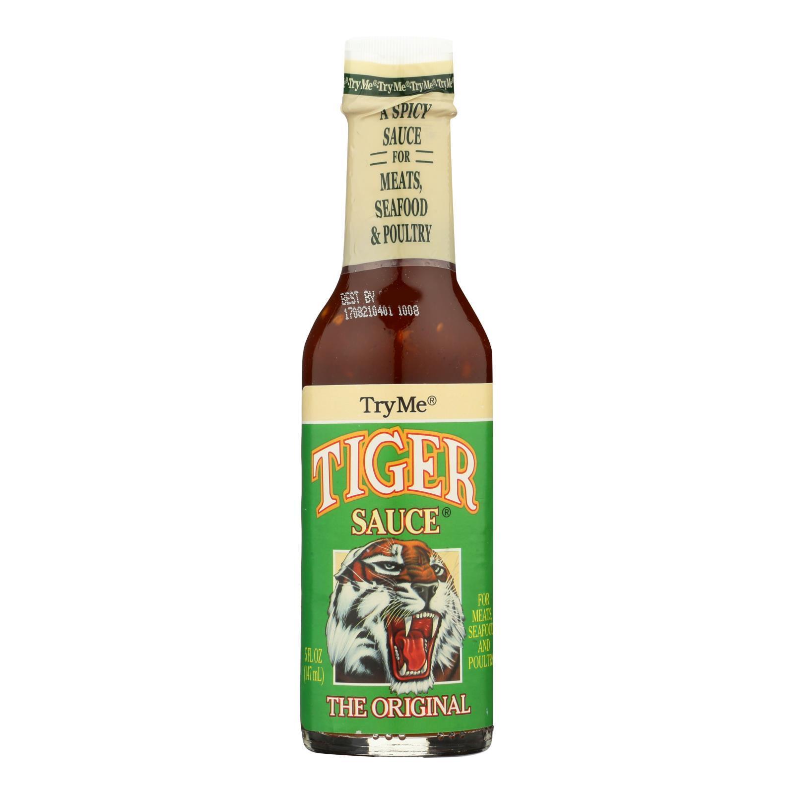 Try Me Tiger Sauce - Case of 6 - 5 Fl oz.