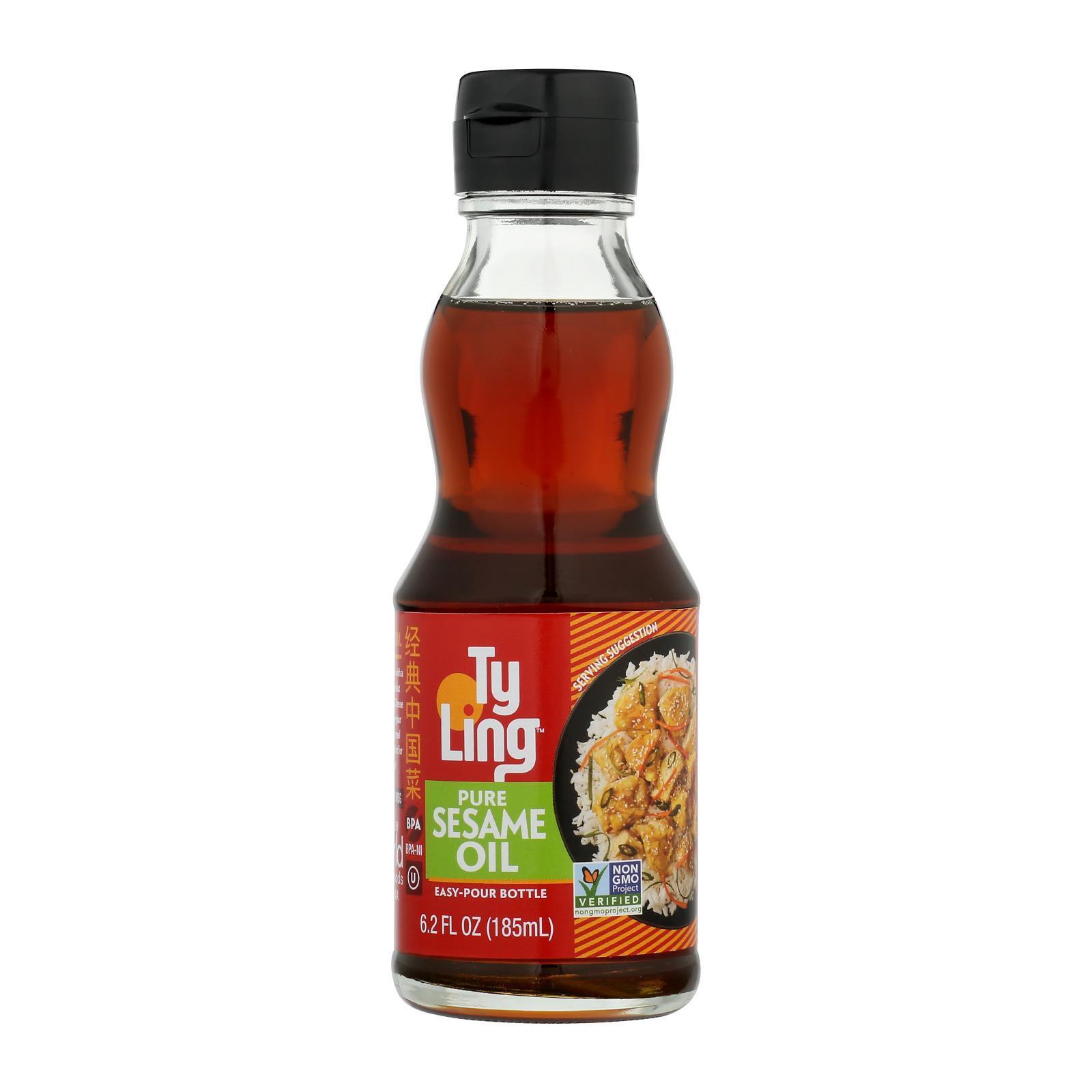 Ty Ling Oil - Sesame - Case of 12 - 6.2 fl oz