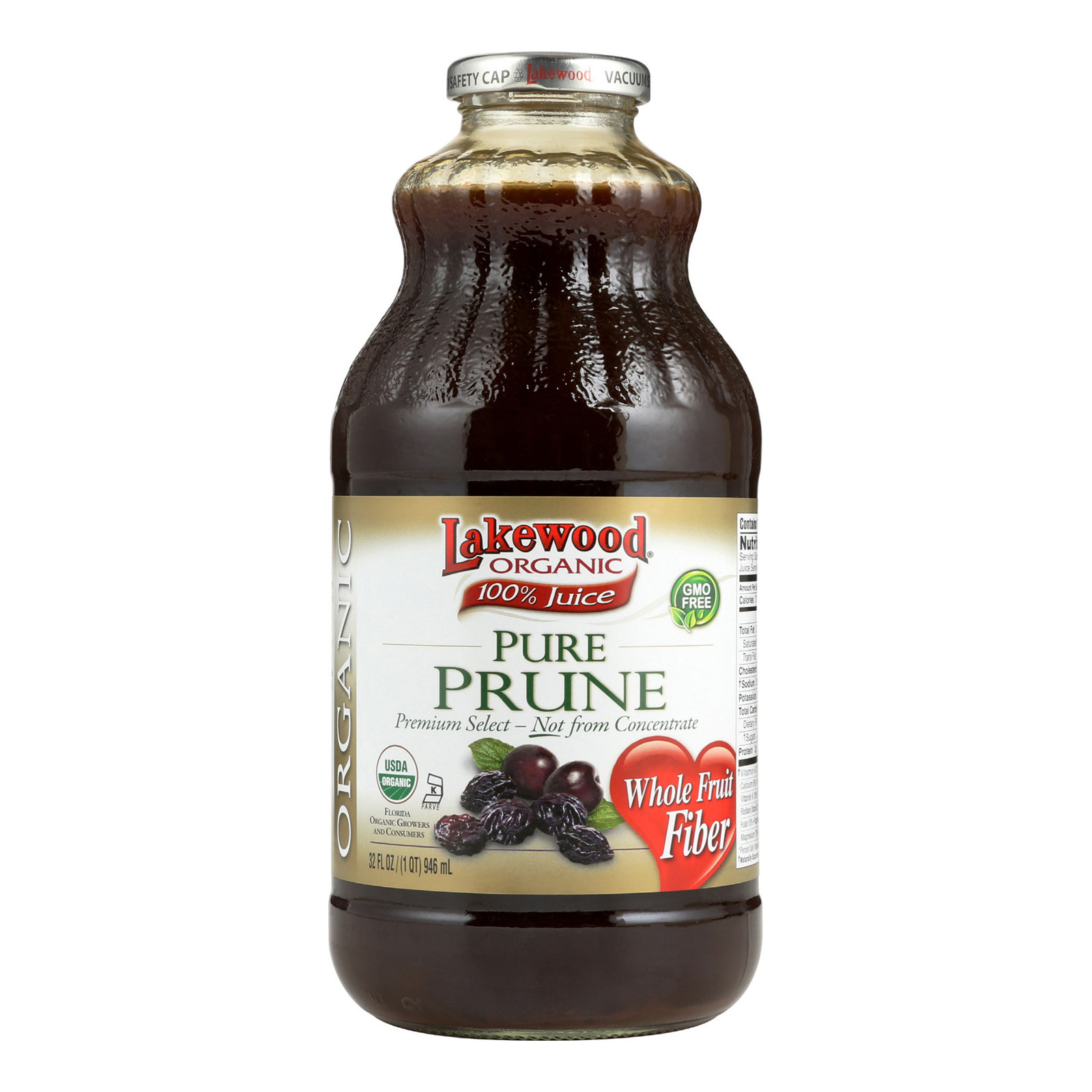 Lakewood Pure Prune - Prune - Case of 12 - 32 Fl oz.