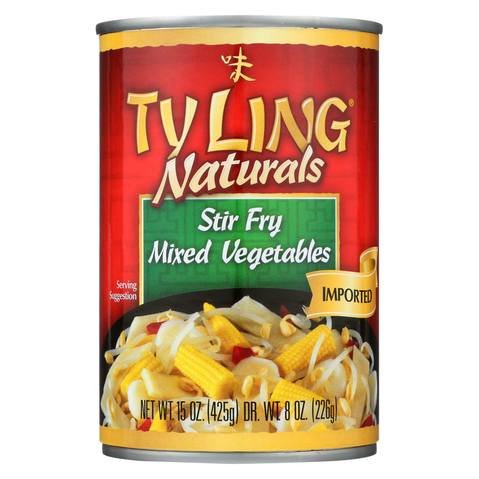 Ty Ling Mixed Chinese - Vegetables - Case of 12 - 15 oz.
