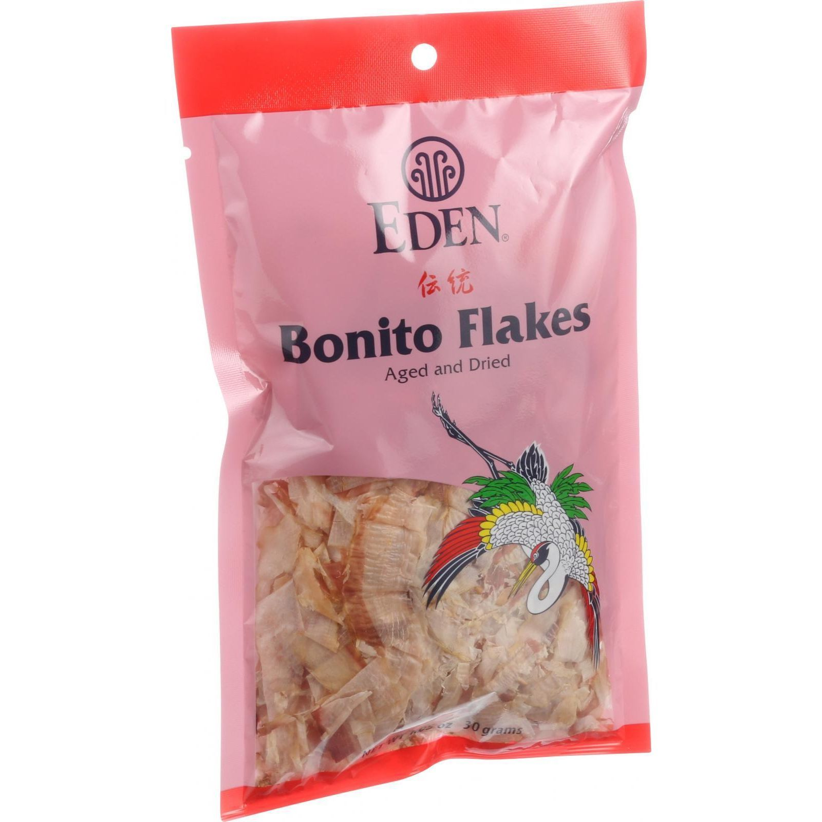 Eden Foods Bonito Flakes - Steamed Aged Dried - 1.05 oz