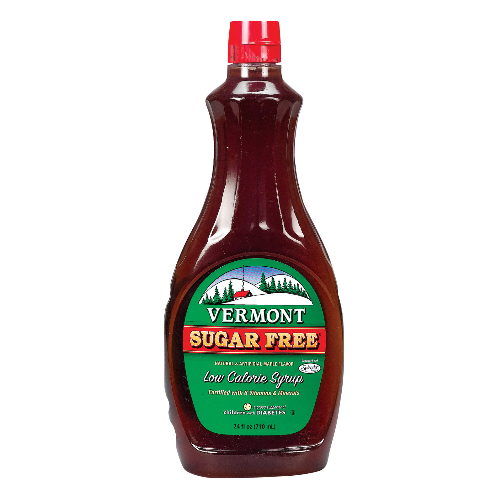 Vermont Syrup - Sugar Free - Case of 6 - 24 oz.