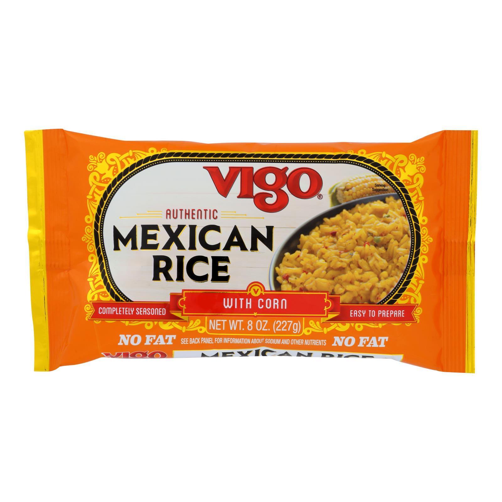 Vigo Mexican Rice - Case of 12 - 8 oz.