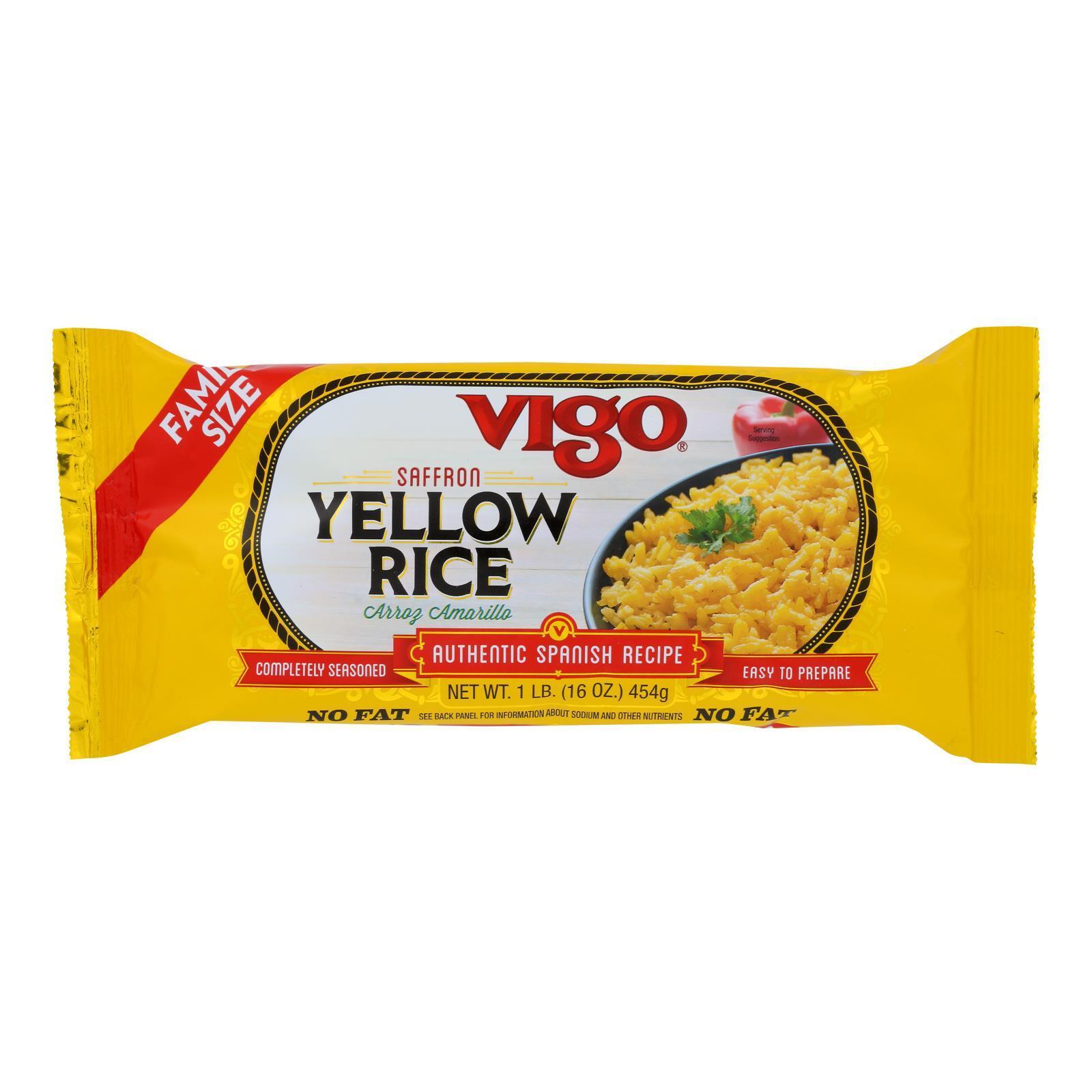 Vigo Yellow Rice - Case of 12 - 16 oz.