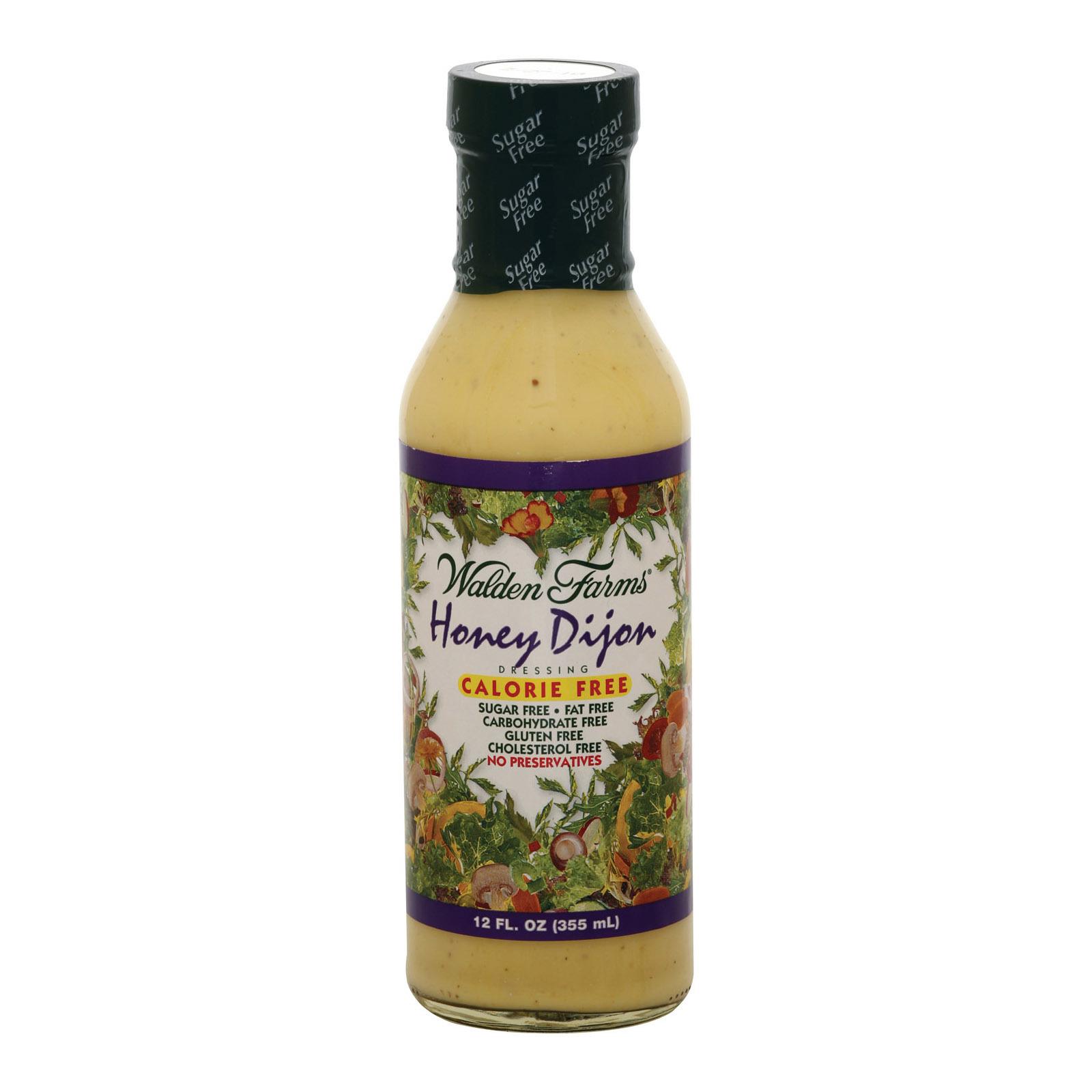 Walden Farms Dressing - Honey Dijon - Case of 6 - 12 fl oz