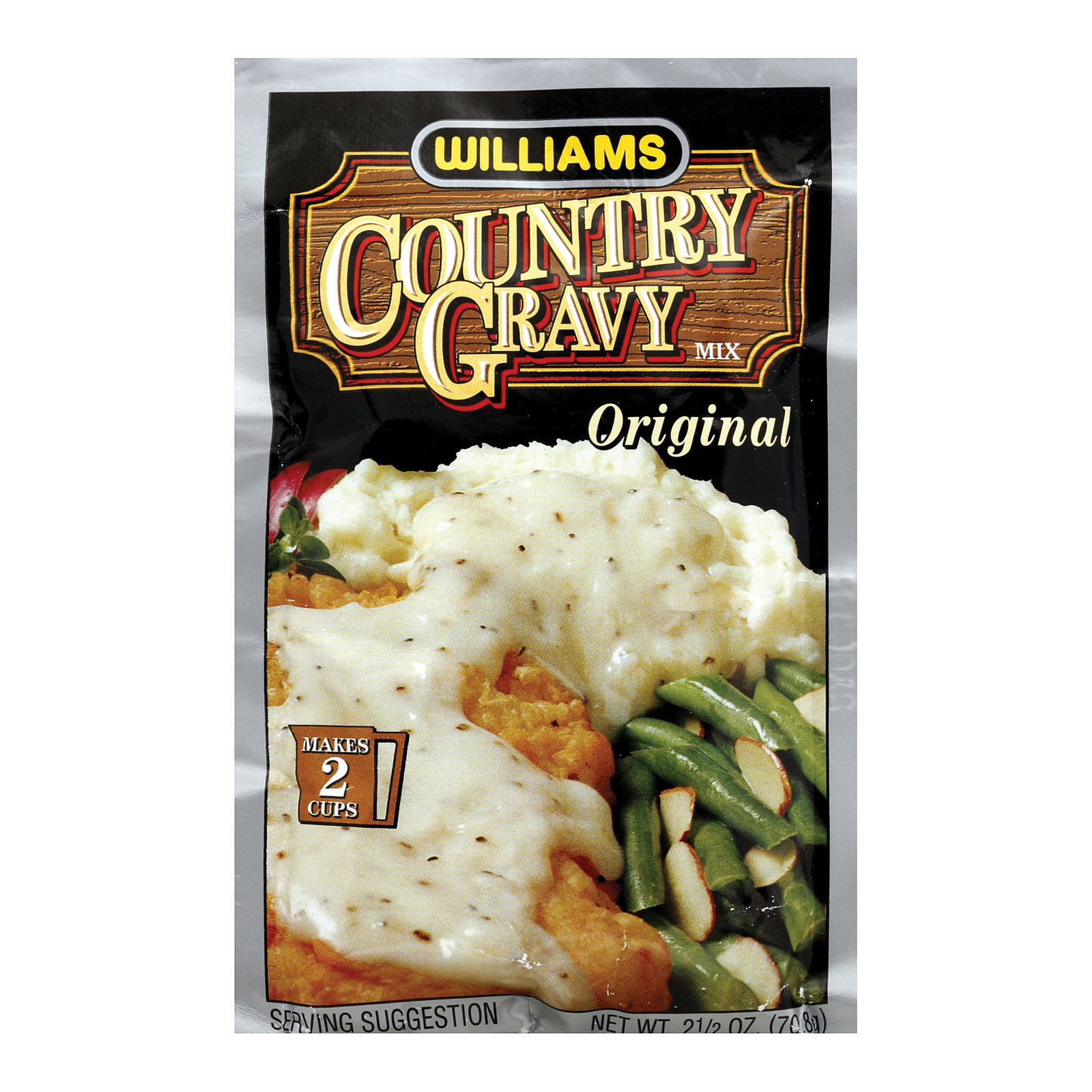 Williams Country Gravy - Real Sausage - Case of 12 - 2.5 oz.
