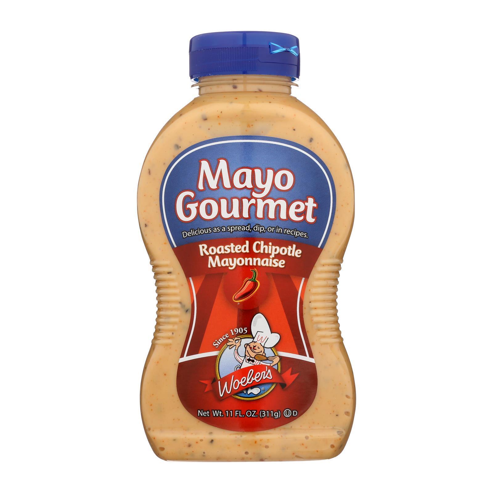 Mayo Gourmet Roasted Chipotle Mayonnaise - Case of 6 - 11 oz.