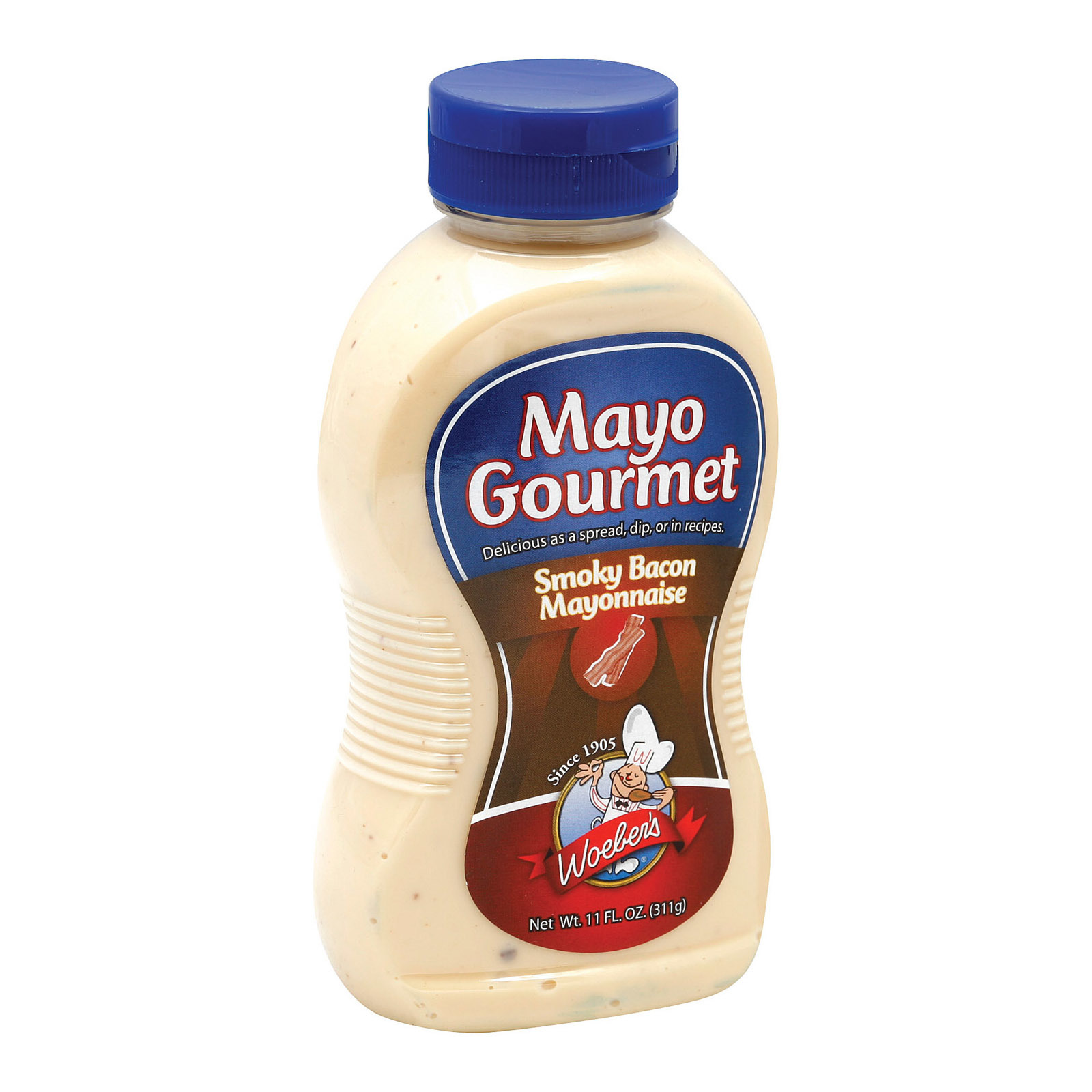 Mayo Gourmet Cool Dill Mayonnaise - Case of 6 - 11 oz.
