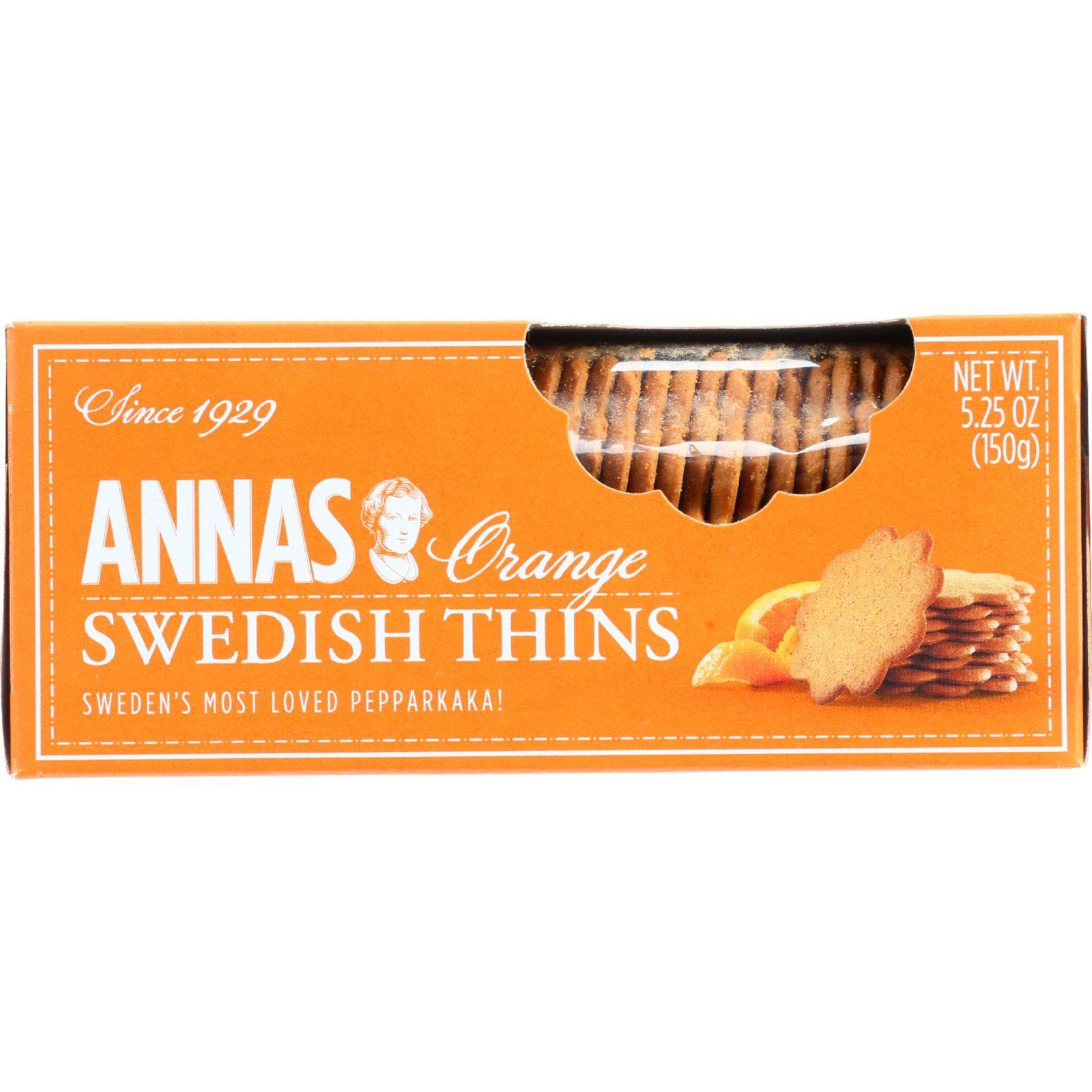 Annas Pepparkakor - Original - Orange Thins - 5.25 oz - 1 each