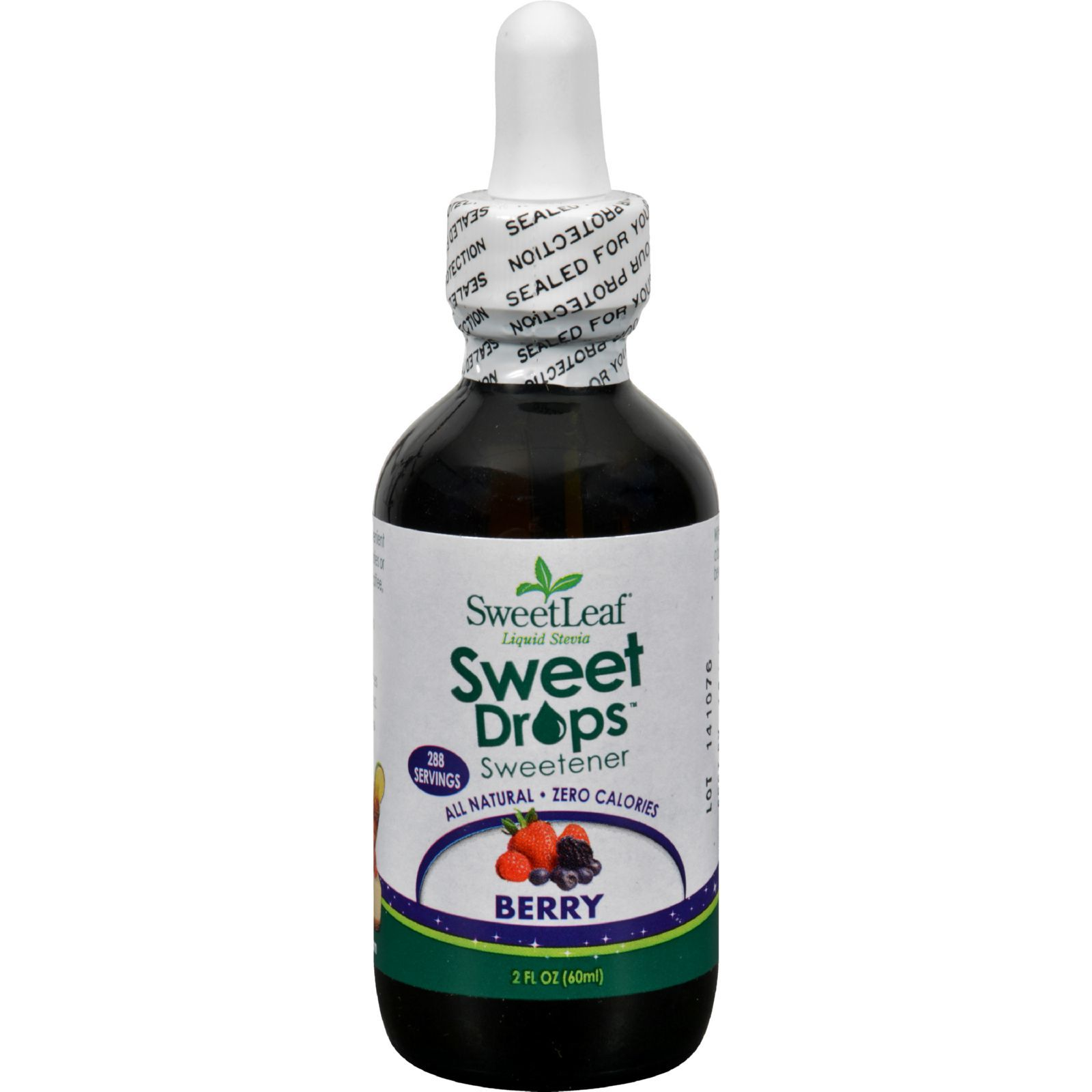 Sweet Leaf Liquid Stevia - Berry - 2 oz