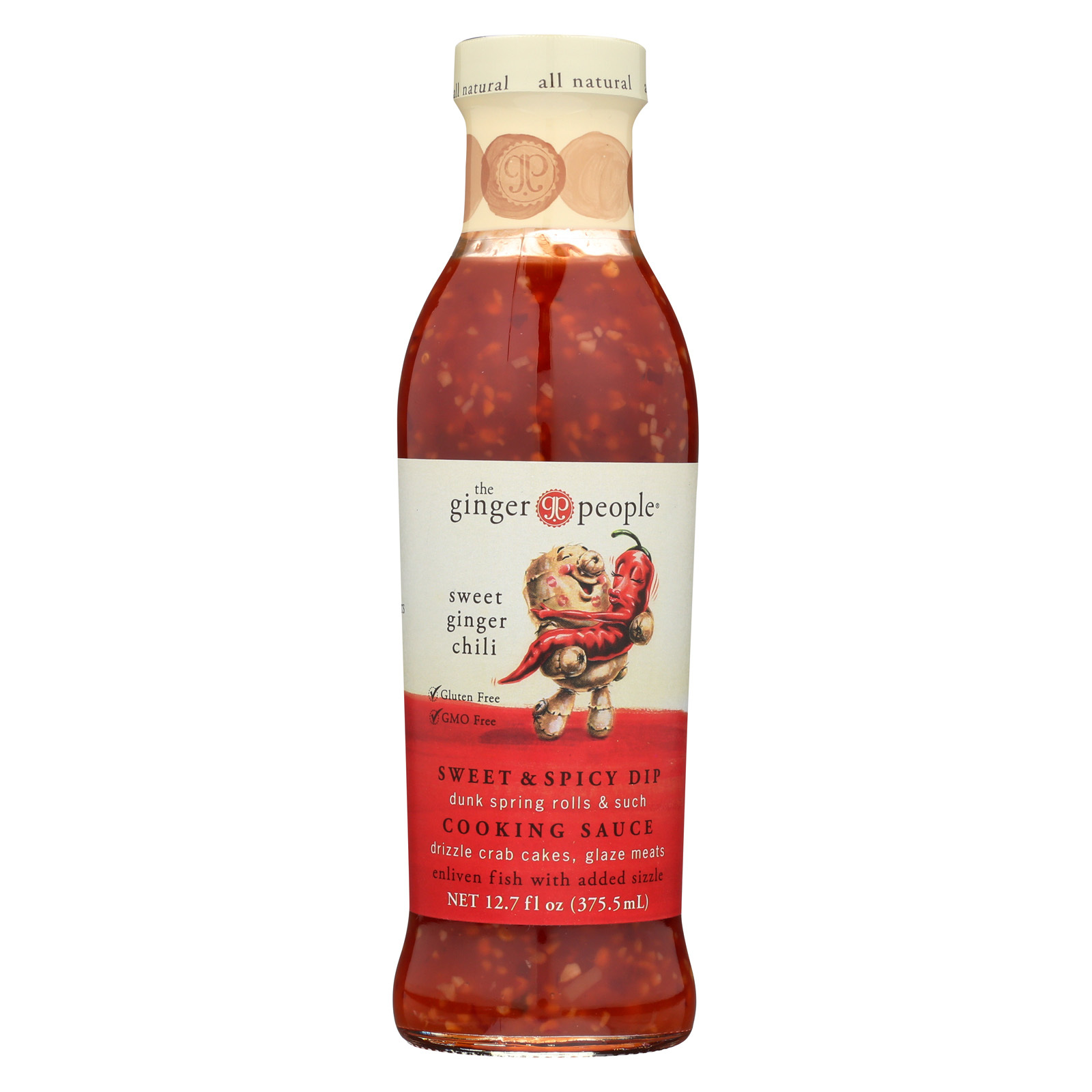 The Ginger People Sweet Ginger Sauce - Chili - Case of 12 - 12.7 Fl oz.