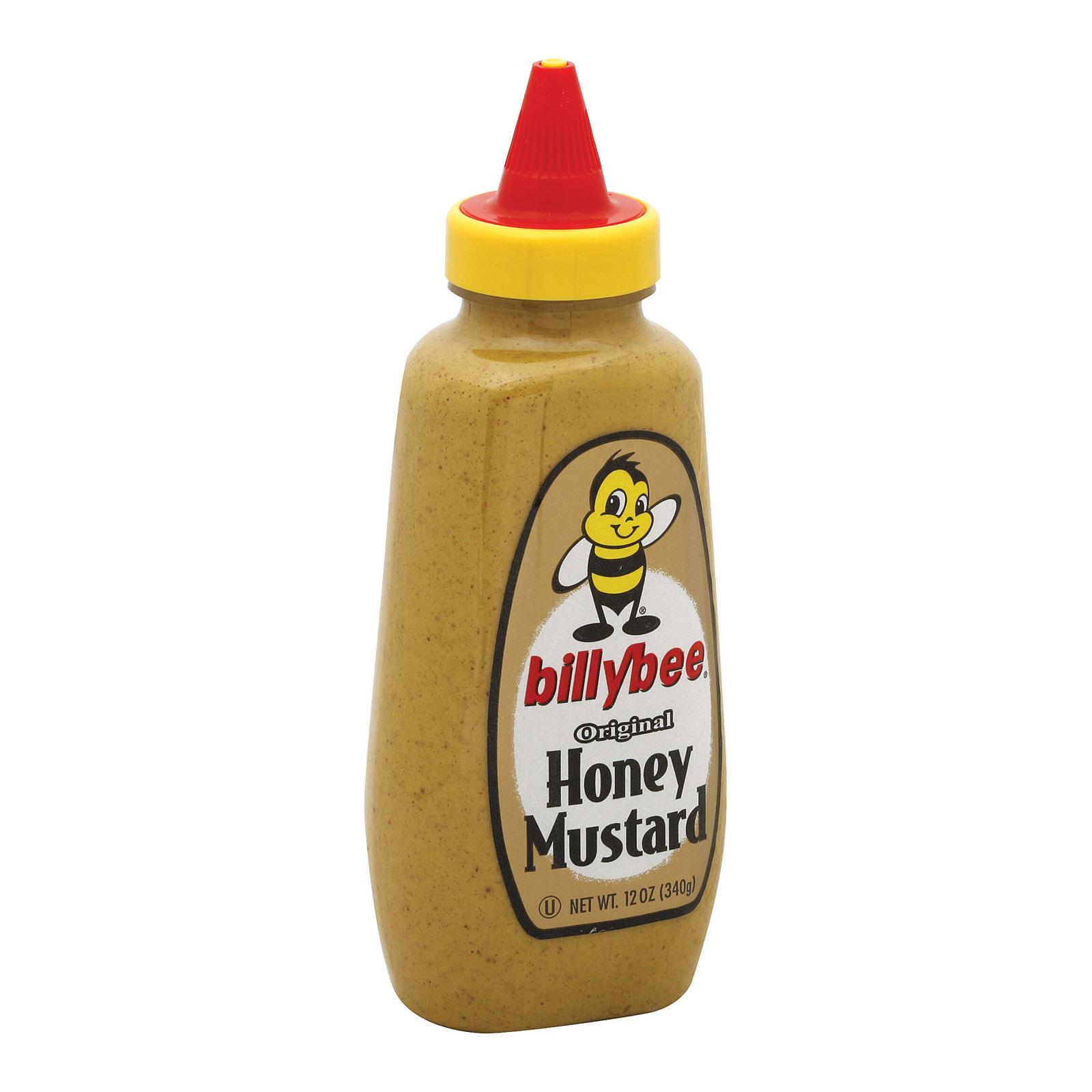 Billy Bee Mustard - Honey Mustard - 12 oz.