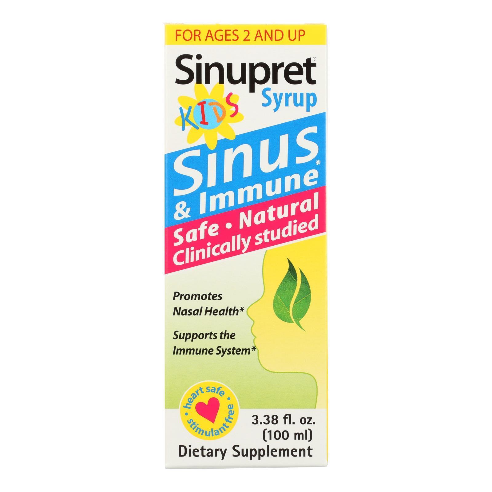 Sinupret Kids Syrup - 3.38 fl oz