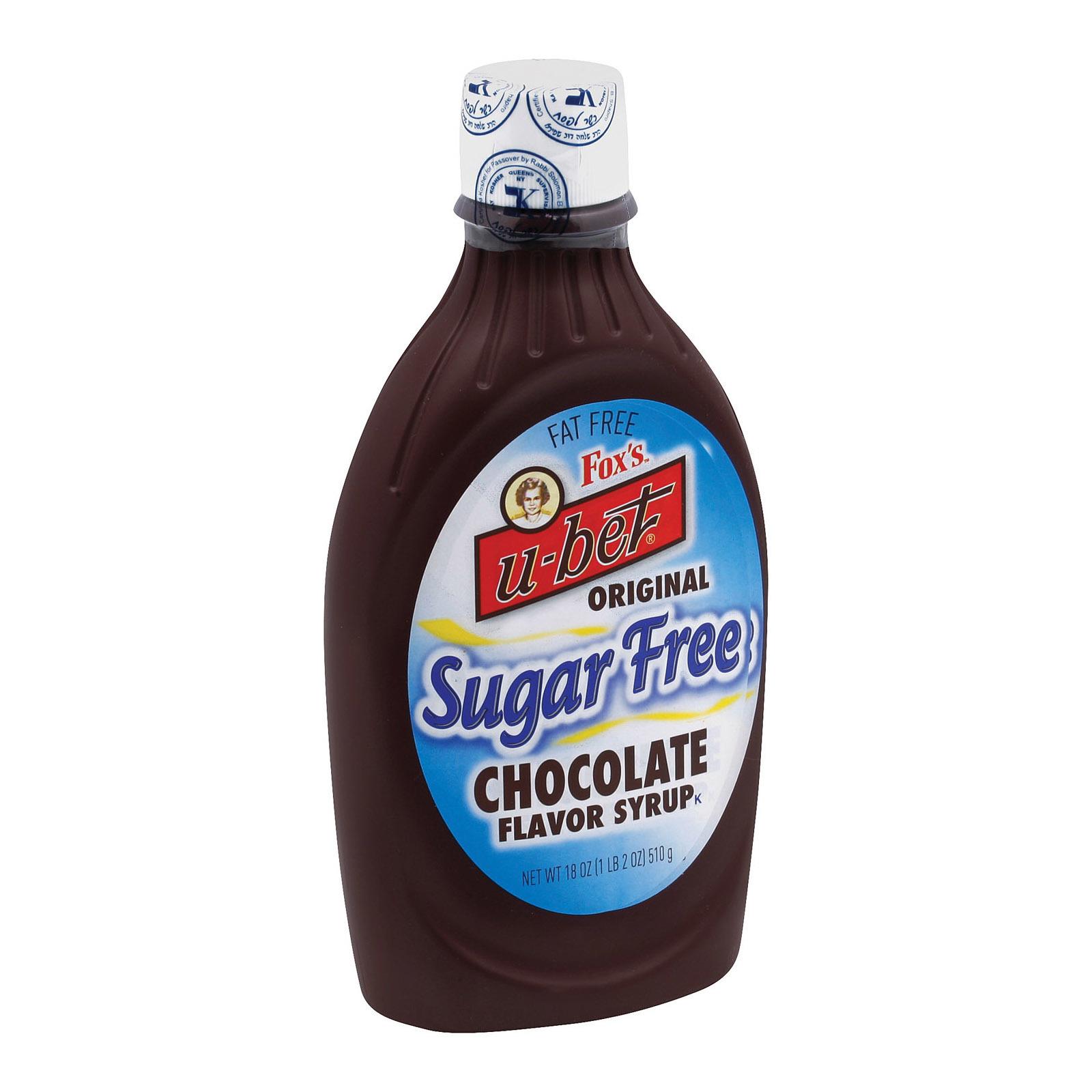 Fox's U - Bet Chocolate Syrup - Chocolate - 18 oz.