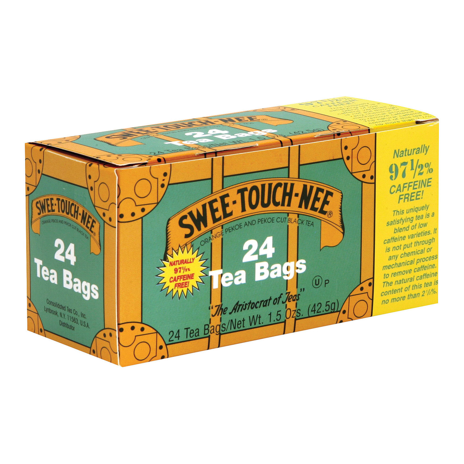 Sweet Touch Nee Black Tea - Decaffeinated - Case of 12 - 24 Bags