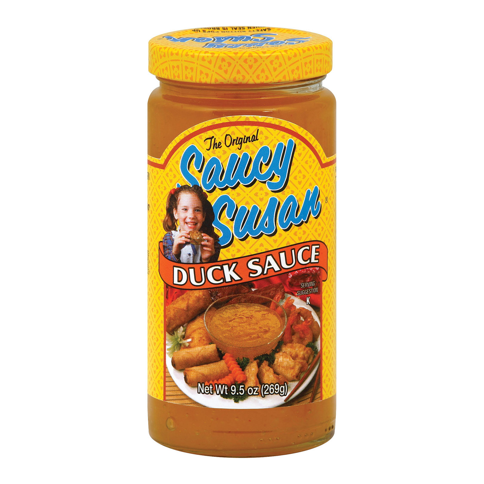 Saucy Susan Original Sauce - Peking Duck - Case of 12 - 9.5 oz.